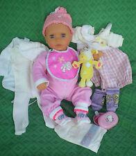 Chicco Puppe 42 cm Babypuppe + viel Zubehör, Funktionspuppe, Spielpuppe, Doll