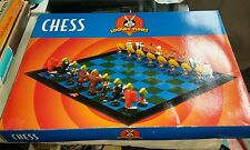 Warner Brothers Looney Tunes Chess Set Vintage collectable