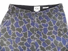 Koto~Urban Outfitters~Skinny Blue & Green Camouflage Pants Mens's size 30