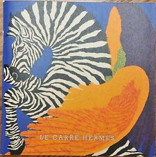 Le Carre HERMES How to Tie Scarf Book Catalog New Autumn-Winter 2014 Authentic