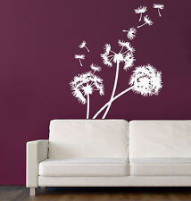 Wall Decals Dandelion Flower Vinyl Sticker Decal Art Mural Home Decor KG912