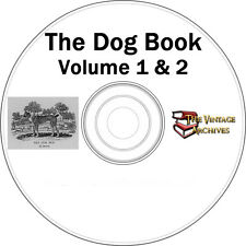 The Dog Book Volume 1 & 2 Vintage Book Collection on CD - History of Dogs