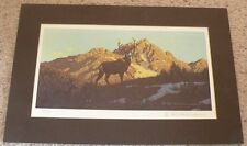 1976 Wilderness Print by Rod Lawrence signed numbered Limited Edition 74 of 250