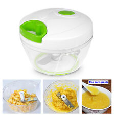 Home Manual Hand Chopper Vegetable Fruits Nuts Salad Grinder Slicer Chopper Tool