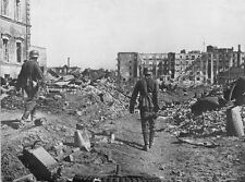 WW2 Photo German Troops Stalingrad Ruins WWII Russia