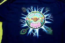 HRC Hard Rock Cafe Bangkok Pinfest 2002 Blue Tee Shirt Size L New