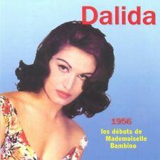 33 // DALIDA 1956 LES DEBUTS DE MADEMOISELLE BAMBINO CD NEUF