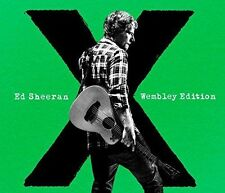 CD + DVD SET ED SHEERAN X WEMBLEY EDITION + EXTRAS BRAND NEW SEALED 2015
