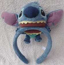 Tokyo Disney Resort Headband Lilo & Stitch Plush On You Cosplay Costume Japan