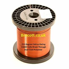 3.00mm - ENAMELLED COPPER WINDING WIRE, MAGNET WIRE, COIL WIRE - 750 Gram Spool