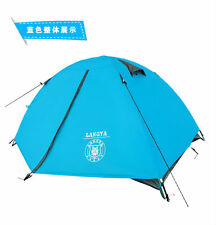 Ultra light 1.8KG Tent double layer Camp Camping hiking track BackPacking Fishin