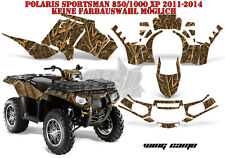 Amr racing decoración Graphic kit ATV Polaris sportsman modelos Wing camo B