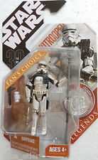 Star Wars 30th Anniversary Saga Legends Sandtrooper (Dirty) (Hasbro, 2007) New