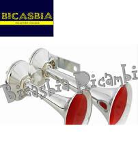 8739  - CLACSON TROMBA PER PEDANA A PEDALE VESPA 50 125 150 - TUNING