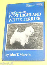 The Complete West Highland Terrier 1978 Great Reference Nice Pictures! Nice See!