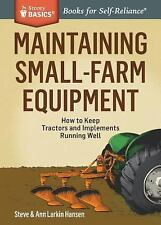 Maintaining Small-Farm Equipment~How to Keep Tractors & Implements Running Well