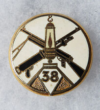 INSIGNE INFANTERIE - 38° Régiment d'Infanterie Divisionnaire