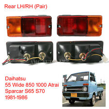 Set Tail Lamp Light Daihatsu 55 Wide 850 1000 Atrai Sparcar S65 S70 81 - 86 V2