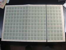 CHINA 1943 Sc#532p Sun Yat Sen Hupeh Sheet of 200 MNH,SCV$400