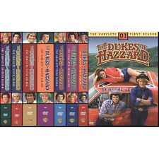 The DUKES OF HAZZARD Complete Series DVD Seasons 1-7 - Season 1 2 3 4 5 6 7