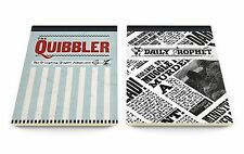 Harry Potter The Daily Prophet & The Quibbler A6 Jotter Set Notepad Notebook