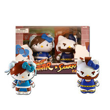 Sanrio Hello Kitty Street Fighter Chun-Li & Zangief PVC Figure 2-Pack - Toynami