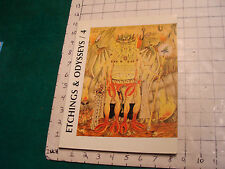 Etchings & Odysseys a special Tribute to WEIRD TALES #4 1984:# 260 of 500 SCARCE