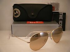 Ray Ban 3025 Aviator Gold w Pink Crystal Lens (RB3025 001/3E 62mm size)