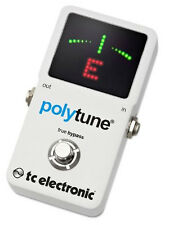 TC Electronic Polytune 2 Simultaneous String Chromatic Drop-D/Capo Tuner Pedal