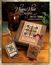 ON MY MIND NOTEPAD & JOURNAL COVERS-QUILT PATTERNS-WAGONS WEST
