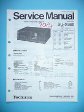 Service Manual für Technics SU-X860 ,ORIGINAL