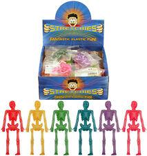 Box of 84 Stretchy Skeletons - Brand New Pocket Money Toys