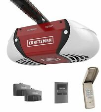 Craftsman 1/2 HP Chain Dr Garage Door Opener,2 Remotes,Keypad 54985