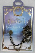 New Disney Cinderella Butterfly Charm Ear Cuff Earrings Exclusive HT Collection