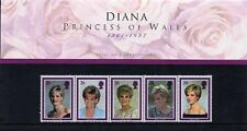 1998 DIANA, PRINCESS OF WALES STAMPS IN PRESENTATION PACK