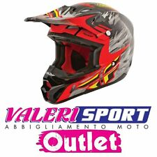 FLY Casco Super cross Helmet KINETIC PRO REPLICA SHORT Honda Yamaha Ktm OFFERTA