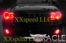 ORACLE Jeep Grand Cherokee 2005-2010 RED LED Headlight Halo Angel Eyes Kit