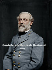 General Robert E. Lee • Feb 1864 Colorized Photo on Canvas