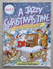 A Jazzy Christmas Time for Viola with CD and piano part *NEW*