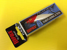 Rapala Flat Rap FLR-6 RH, Red Head Color Lure, NIB.