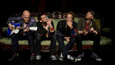 "Coldplay Rock Music Group Wall Poster 21x13"" Decor 28"