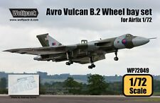 Wolfpack 1:72 Avro Vulcan B.Mk.2 Wheel Bay Set for Airfix -Resin Detail #WP72049
