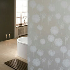 New Privacy Glass Window Decorative Film Flower Frosted Stained Sticker 200x45cm