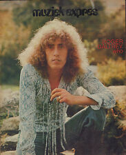 WHO / ROGER DALTREY - PHOTO'S + ARTICLES  FROM DUTCH MUSIC MAGAZINES 1970-1973