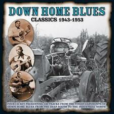 Various Blues(4CD Album)Down Home Blues Classics 1943-1953-Boulevard-BV-New