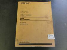 Caterpillar 980G Wheel Loader Parts Manual   2KR1-Up