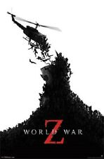 PARAMOUNT PICTURES WORLD WAR Z MOVIE POSTER 22x34 NEW FAST FREE SHIPPING