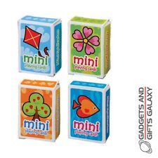 MINI PLAYING CARDS FUN TOY  PARTY BAG FILLER - novelty gifts games and gadgets