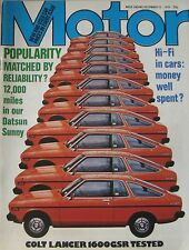 Motor magazine 15/12/1979 featuring Colt Lancer road test