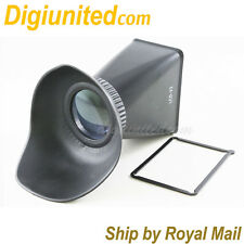 "3"" LCD Viewfinder Extender 2.8x for Canon EOS 60D 600D DSLR camera 3:2 screen"
